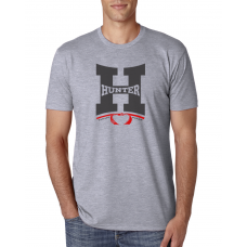 Camiseta Hunter H Cinza Mescla