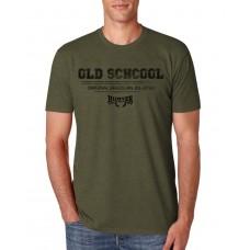 Camiseta Hunter Old School Verde Militar