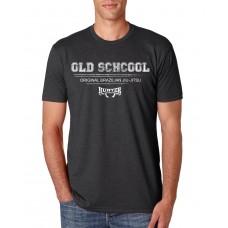 Camiseta Hunter Old School Cinza Chumbo