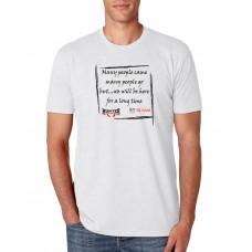 Camiseta Hunter Mensagem Old School Branca