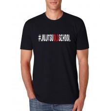Camiseta Hunter #jiujitsuoldschool Preta